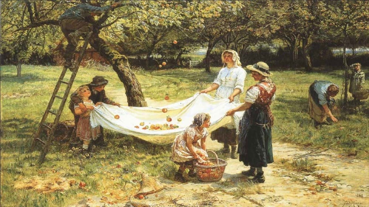 The Apple Gatherers – Frederick E. Morgan